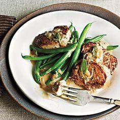 Fall Recipes | Cider and Sage Pork | CookingLight.com