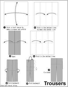 Nip-Tuck-Fold on Pinterest | Fabric Origami, Origami and Origami Dress