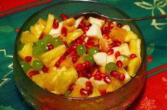 9 Fresh Fruit Salads for the Holidays #Christmas