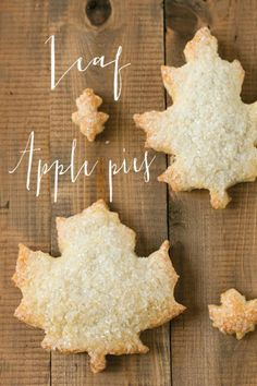 leaf apple pies