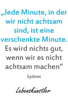 Jede Minute, in der
