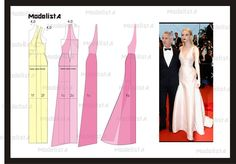 dress patterns, sew, maxi dresses, fashion patterns, woman fashion, coutur, red carpets, patron vestido, pattern draft