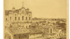 Southern Cathedral (Nan Tang) in Beijing. The Building Shown Here Was Erected in 1861 and Destroyed in 1900 during the Boxer Uprising. China, 1874.