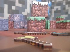 Make real-life Minecraft blocks!