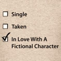 Or multiple fictional characters . . .