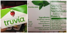 Truth about most stevia at the store.