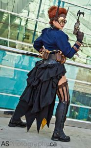 Do-It-Yourself: Steampunk Bustle Skirt