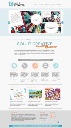 COLLIT CREATIVE     web + graphic design
