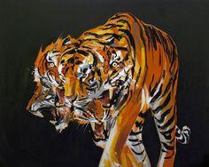 erik olson, tigers in the night