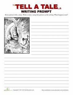 creative writing year 1