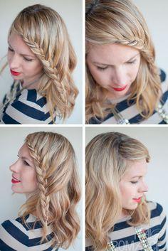 Hair Romance - 30 braids 30 days - 26 - French fringe braid