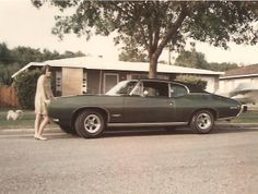 #fbf - This 1968 #GTO was just months old when this picture was taken with the mother of one of our club members standing in front of it. To this day, this car is still a one family car. What a great car to grow up with!