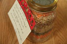 soups, rice, lentil soup, jars, lentils