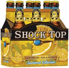 Shock Top Summer Shandy.  Anheuser-Busch joins Samuel Adams in releasing a shandy this year.  Looks to hit the stores tomorrow.  Is it really summer time already?!