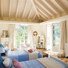 Breezy guest room