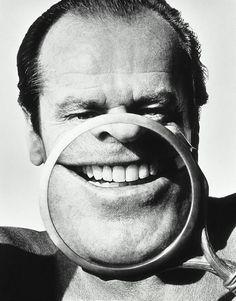 Jack Nicholson by Herb Ritts. 1986