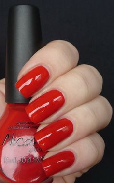 Nicole By OPI Kourt Is Red-y For A Pedi