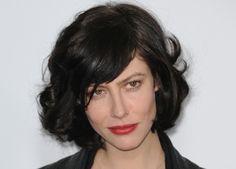 French Actress Anna Mouglalis' Perfect Curly Bob