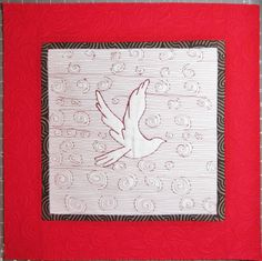 free motion quilting by Pat Merkle   Color Me Quilty