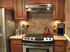 Kitchen Tile Backsplashes | How to Tile a Kitchen Backsplash : How-To : DIY Network