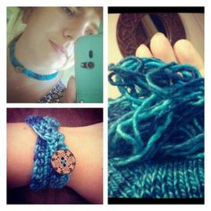 #crochet jewelry
