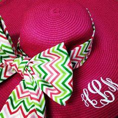 Monogram Derby Hat - <3