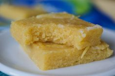 Paleo Lemon Brownies (change out as needed)