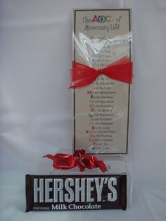 This gift tag goes through each letter of the alphabet and gives a thought about missionary life.  A candy bar and two mints finish it off for a sweet little gift to your missionary.