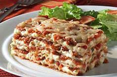 Table-for-Two Lasagna recipe