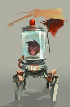 Concept Art by Mickael Balloul