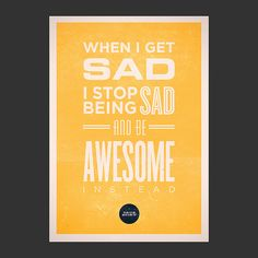 be awesome instead.