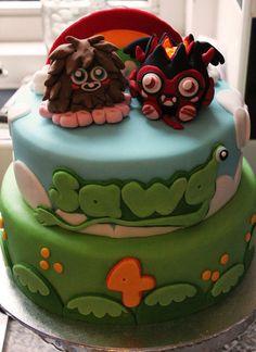 MOSHI MONSTERS  Cake by nicolalabridgeter