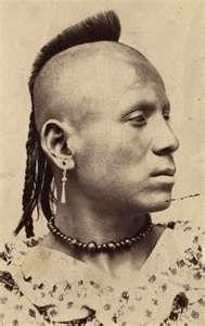 Pawnee Warrior 1860