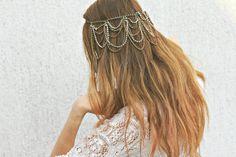fairy hair, hair pieces, bohemian bride, hair chain, hairchain, wedding hairs, bohemian look, bohemian hair, hair accessories