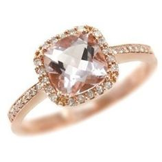 rose gold engagement ring ooooh so beautiful!! :)***