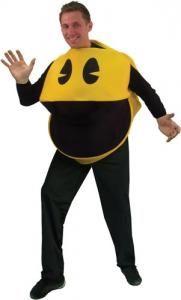 Disfraz Comecocos Pac Man. 3D