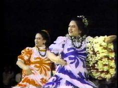 Ladies of Ke'ala 'O Ka Lauwa'e - Merrie Monarch 1985, @Stanette Martin Martin Martin Nu'uhiwa