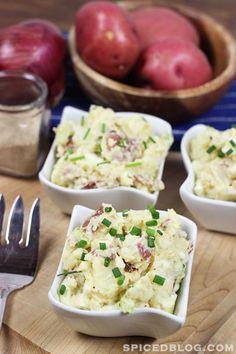 Southern Style Red Potato Salad #summer #potatosalad #picnic