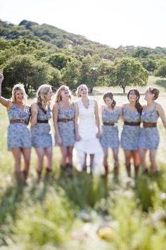 adorable bridesmaid dresses