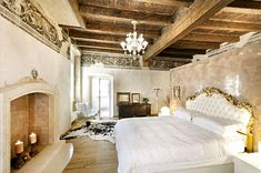 interior design, rustic bedrooms, fireplac, product design, modern rustic, apartment design, beams, ceilings, shabby chic interiors