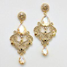 statement earrings, diamond earrings