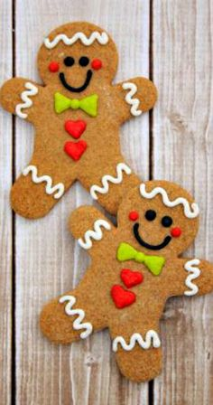 NO CHILL Gingerbread Roll Out Cookies ~  It's a chewy cookies with a smooth gingerbread cut out flavor that is the perfect compliment to royal icing while still retaining perfect shape.