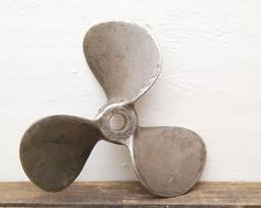 SALE 10 1/2 Inch Heavy Old Boat Propeller by VintageLancaster, $35.00