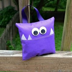 "Create this whimsical Lost Tooth Pillow for the little ""monsters"" in your life using a brand new crafting material, Oly*Fun! Sew and no-sew ..."