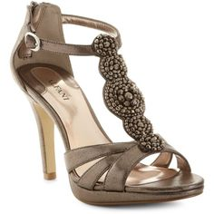 Alfani Shoes, Jovita Platform Evening Sandals found on Polyvore