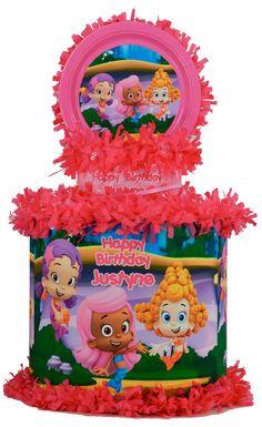 World of Pinatas - Bubble Guppies Girls Personalized Pinata, $39.99 (http://www.worldofpinatas.com/bubble-guppies-girls-personalized-pinata/)