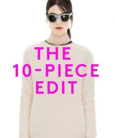 Think of this when buying clothing! The 10-Piece Closet Edit: Why It Works!