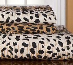 Update your bedding with our cheetah sheet set. #AnnasLinens #Cheetah