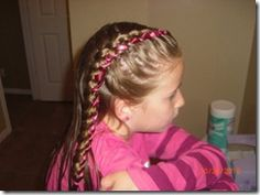 Lots of cool hairstyles for little girls