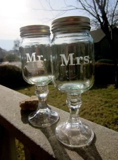Mr and Mrs Redneck Wine glass set  Wedding by EtchedExpressions, $22.00
